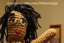 Crochet Mis Creaciones / mis pininos en el crochet www.youtube.com/user/lidiazuniga