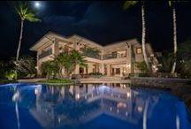 Tropical Home: Hale Ali'i / Maui's premier beachfront estate: 9 Kapalua Pl, Maui, HI Currently listed at $23,950,000.