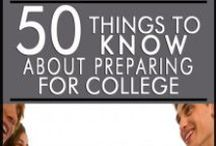 College Preparation / Use us as a resource when applying to college, or checking out your options.