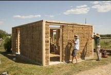 słomiany dom - straw house