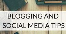 Blogging And Social Media Tips / A collection of blogging inspiration, hints and tips to inspire. Plus posts that cover the spectrum of social media.