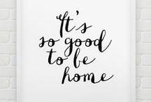 Huis | Quotes / Op zoek naar inspirerende quotes? Op dit bord vind je ideeën voor je huis!