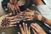 Tattz / henna, fine line, doodle, bohemian, gypsy, arabic and elegant tattoo's