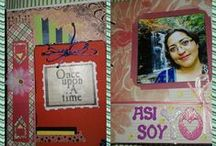 Mi vida en scrap 4 / Album de mi vida en scrapbook volumen 4 #zunireds http://www.youtube.com/user/lidiamonahua