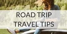 Road Trip Travel Tips / Everyone should go on an epic road trip at least once in their lives! A road trip is the epitome of the epic adventure. Just pick your destination, grab a map and your mates and hit the road!