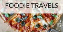 Foodie Travels / Travel and food go hand in hand! One of the best things about exploring new cultures is sampling the new cuisines that come with it. This board is all about reviews, where to eat, ideas, inspiration and general mouth watering recommendations for your food travels across the globe.