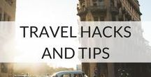 Travel Hacks And Tips / Planning your trip can be a daunting process. Luckily, there is so much inspiration at hand to help you with how to plan your holiday, how to search for flights, save money, travel smarter and simpler.