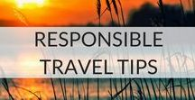 Responsible Travel Tips / Want advice on sustainable travel, eco-travel, responsible travel, volunteer opportunities and community programmes? This board aims to bring you ideas on how to get the most and give the most out of your travels.