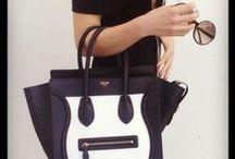 :::`•.¸✿  My bags ✿¸.´::: / by Alba Maria Rodriguez Tena