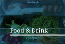 Food & Drink / Eat well; dine socially; make the most of seasonal foods; explore new ideas; consider new drinks; learn more about wine.