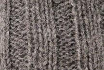Colour samples / Colour samples of mormor.nu knit.