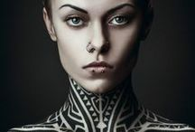 Tattoos / Body Art / Tattoo, body paint and other forms of body art photography