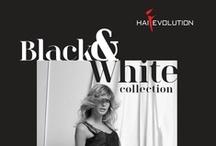 HAI®EVOLUTION – BLACK&WHITE – 2013 COLLECTION / Tema ricorrente nella moda, intramontabile e sempre attuale, BLACK&WHITE è anche il nome della nuova collezione firmata HAI®EVOLUTION: proposte di taglio/colore estremamente versatili, presentate in styling differenti per essere adatte ad ogni situazione. Recurrent fashion theme, timeless, always fashionable, BLACK&WHITE is also the name of the new HAI®EVOLUTION collection: extremely versatile cut/color proposals, presented in different styles, suited to any occasion.