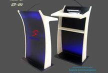 Podium / Lecterns / We are amongst the best providers of Podiums/Lectern/Rostrum that are used in various corporate houses and institutional organizations, schools, colleges, amphitheaters and trade shows in addressing a meeting. We are the manufacturer, supply all type of Podium/Lecterns and distribute all over India. For details visit www.saatvikcommunication.com  Also find our Latest Podium at www.woodenpodium.in
