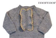 Handknitted Winter clothes for children
