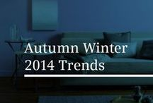 Autumn / Winter 2014 Interior Design Trends / 2014 promises a lot in terms of interior design. Here are the key trends that you should consider when re-decorating or re-styling this year.