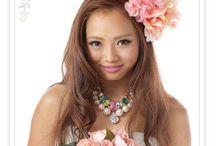 Wedding Accessorys 【mekku】 / 花冠&ヘッドドレス ウェディングアクセサリーSHOP【mekku】 http://www.mekku.info/ のアクセサリーを紹介(^o^)