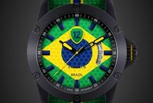 Brazil / Support Brazil national football team by wearing its watch from Twelv2! http://www.twelvewatch.com/