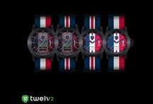 France / Support Les Bleus, France national football team by wearing its watch from Twelv2! http://www.twelvewatch.com/