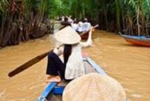 Asia / Experience the wondrous waterways of Vietnam & Cambodia, enjoying iconic temples and bustling cities. You will discover a kaleidoscope of treats from these two great and ancient nations.