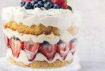 {Holidays & Events} Red, White, & Blue / Recipes and inspired ideas for 4th of July