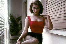 Sophia Loren / Another stunning lady ♥ Sophia Loren ~Born on 20th September 1934 / by Marilyn Monroe in Colour