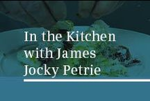 In the Kitchen with James Jocky Petrie / Bespoke recipes created exclusively for Siemens by Head of Development at London's top restaurant The Ledbury. James Jocky Petrie, cooking with flexInduction.