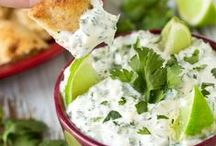 #nomnom: Savory Sides / Looking for the perfect side to have with dinner or to finger food to bring to your next shindig? Here you'll find a variety of vegetarian and meaty dips and apetizers, side dishes, and vegetable recipes.