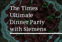 The Times Ultimate Dinner Party with Siemens / From their ideal guests to impressive yet easy dinner party recipes, join Siemens to discover how Alexander Armstrong, Gabby Logan and Phillip Schofield would be the perfect host for their Ultimate Dinner Party. In association with The Sunday Times Magazine. Discover full recipes and the Ultimate Kitchen Appliances by visiting the Siemens website here http://www.siemens-home.co.uk/the-times-ultimate-dinner-party.html