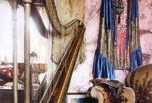 olkkari inspis / bohemian, antique, musical, spiritual