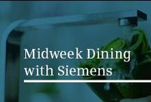 Midweek Dining with Siemens / Imagine a world where you are no longer pressed for time. Introducing a Midweek Dining experience with Siemens iQ700 oven range and varioSpeed. With recipes developed in association with Michel Roux Jr.