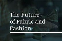 The Future of Fabric and Fashion / Siemens home appliances explores the future of fabric and fashion. From sustainable fabric to wearable technology,  industry experts discuss their predictions of what we can expect on the catwalk and in fashion retailers.
