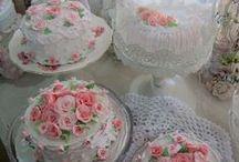 Shabby Chic Fake Cakes/Cupcakes