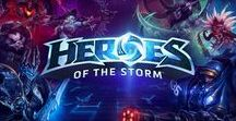 Heroes of the Storm / Blizzard / This was initially an Overwatch board, but I've started playing more Heroes of the Storm lately, and I want to expand it into a board that celebrates all of the great characters from across the Blizzard gaming universe.