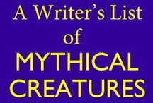 Mythology Related / Mythology from all cultures is a great source of inspiration for me when creating any kind of #fantasy setting, whether that be for a contemporary setting or a secondary world.  This board is to gather different images, graphics, or articles on mythology that I stumble across in life or the internet.  #writing