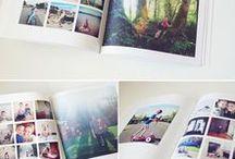 Librologie / Ideas para diseño de libros de foto.