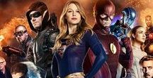 The Arrowverse / I don't know that any of these four shows is one of my favorites singularly (though Supergirl and The Flash could be argued for), but collectively the DC shows on the CW are one of my favorite things to follow.  #Supergirl #TheFlash #Arrow #LegendsOfTomorrow