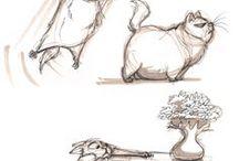 Character Motion Studies / Character Motion Studies – verschiedene Grafiken und Illustrationen im Character Motion Style