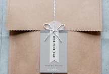 PRETTY  PACKAGING / by diana rice