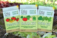 A Kit For Every Gardener! / At Home Farmer, we supply our customers with an array of seed combinations catering to the likes of every taste and every gardener so that everyone can enjoy homegrown produce!