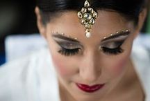 "Hair & Makeup / Perfect your do, before saying ""I do""."