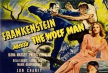 Horror Movie Posters / Vintage Horror Movie Posters and Lobby Cards