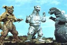 Kaiju / Giant Monsters Bent on Destruction