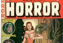 Horror Comics (Golden Age) / Covers of Horror Comic Books from the 1950s