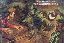 Tales of the Zombie / Cover Art for Horror Magazines from the 70s