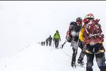 Ausangate Climbing / We had the privilege to conquer one of the Apu Ausangate's Summit with the most inspiring team: Soldiers to Summits. It was a challenge full of adrenaline, sharing life experiences and learning about teamwork and overcome barriers.