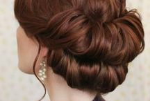 Hairstyles to try / Collection of hairstylesb/braids/buns and updo's to try