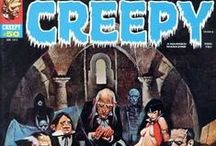 Magazine Covers: Warren & Other Mags / Horror Magazines of the 1970s