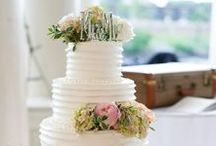 Cakes / Featured cakes from recent Cescaphe weddings