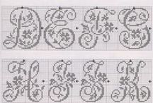 Fillet crochet charts